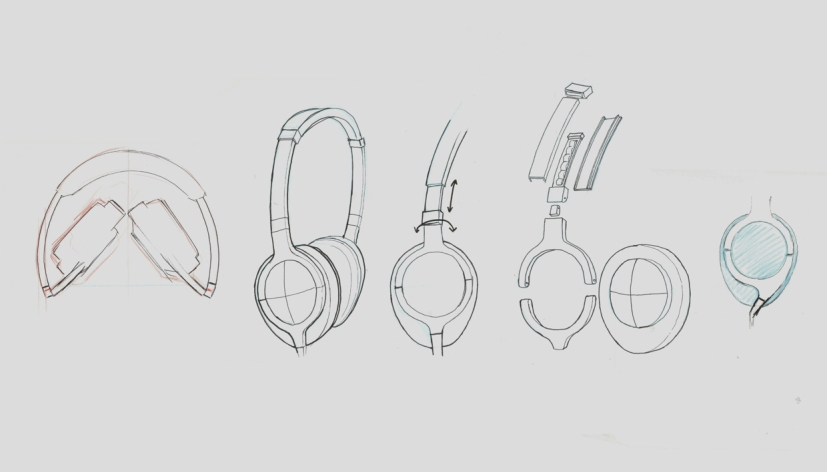headphone sketches